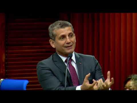 Pronunciamento do presidente da OAB-PB, Paulo Maia, em sess�o na ALPB, sobre o fechamento das Cormarcas