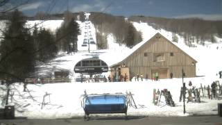 Mount Snow Base Webcam- Wednesday March 27, 2013
