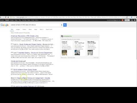 How to Refine Google Searches by Top Level Domain