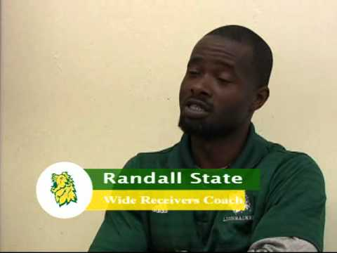 Wide Receivers Coach Randall State