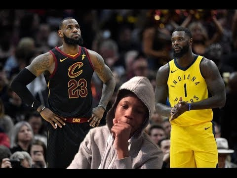 DAMMM WE GOT DUBBED!! CAVS VS PACERS HIGHLIGHTS REACTION!!