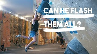 Climbing Bet - Can He Flash Them All? Nikken Vs Eric ( Classic Episode ) by Eric Karlsson Bouldering