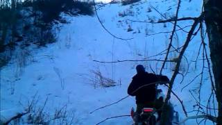 9. yamaha phazer mtx hill climb and jumping