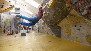Hyperfocused - Dyno Compilation by Psyched Bouldering