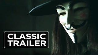 Nonton V For Vendetta  2005  Official Trailer  1   Sc Fi Thriller Hd Film Subtitle Indonesia Streaming Movie Download