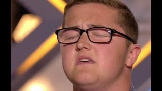Video Big Voice Daniel Blows Judges Away With Elton John's Your Sing | Audition 2 | The X Factor UK 2017 MP3, 3GP, MP4, WEBM, AVI, FLV Maret 2019