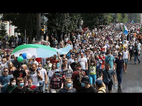 Самый массовый протест в Хабаровске! 25 июля!