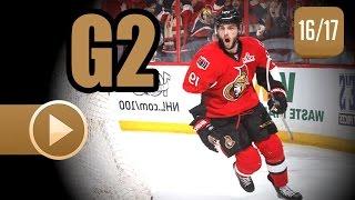 Bruins vs. Senators Game Two Recap