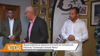 """Ayoze Cabrera se adjudica el triunfo en la Suelta de Palomas """"homenaje a Ismael Pérez"""""""