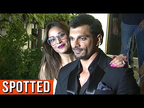 Bipasha Basu And Karan Singh Grover SPOTTED On A D