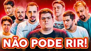 NÃO PODE RIR! com ESPORTE INTERATIVO (Alê Oliveira, Octavio Neto, Casimiro e Pedro Certezas)