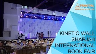 Kinetic Wall - Sharjah International Book Fair