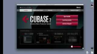 Cubase 7 - Установка и беглый обзор