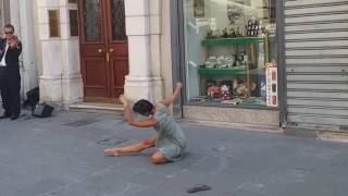 Trieste Italy  City pictures : Rima Baransi dancing in Trieste, Italy [Horizontally stabilized]