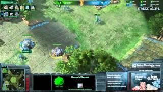 PvT Grubby Vs Select G2 Starcraft 2 HD Polski Komentarz