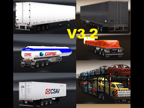 Chilean Trailers Pack v3.2