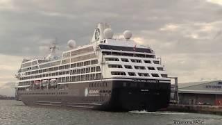 Azamara Club Cruises Ship the - Azamara Journey arrived in Southampton from Torshavn in the Faroe Islands on 19th July 2017...
