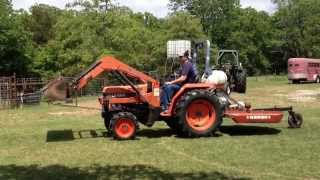 8. Kioti LK3054 with loader for sale $8500