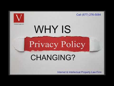, title : 'Why is my privacy policy changing?'