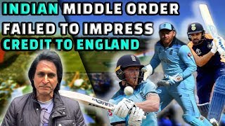 Indian Middle Order Failed to impress | Credit to England