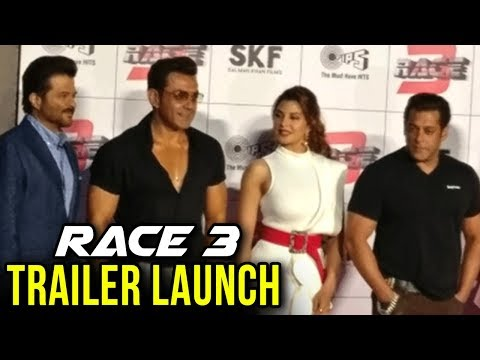 RACE 3 Trailer Launch | Jacqueline Fernandez, Bobb