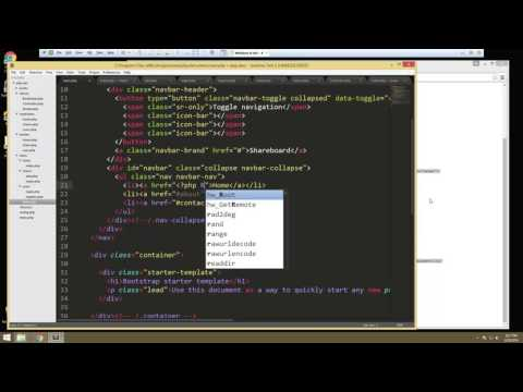 Learn How to Build a Complete  PHP Application with Login – Part 5