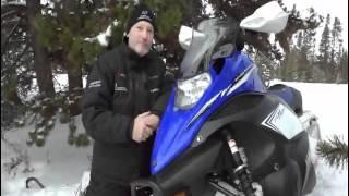 10. AdmdQ.TV: Motoneige Yamaha 2013  Snow Shoot West Yellowstone
