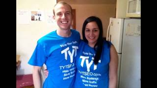 SEO Companies Rap Song! We just had some T-Shirts that came in, this is Mike and Sarah Piet in the picture - co-founders of TYT - and yes we added our rap song that we had made on fiver smile emoticon  http://tytseo.com/https://www.youtube.com/watch?v=lSWHe6WAADsCreator and rapper's name is Dru and can be found in Fiver:https://www.fiverr.com/rapper_man/create-a-custom-and-personalized-rap-song-for-any-occasion?funnel=52eb1581-a97e-4625-b47d-3a2f22da5367