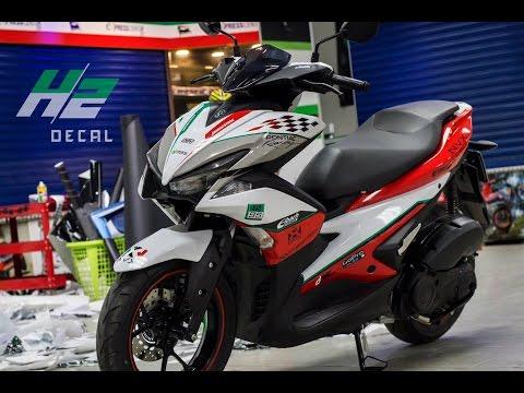 CuongMotor - Bản độ Decal Yamaha NVX 155 cực ngầu đầu tiên tại Việt Nam