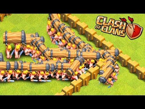 EN İYİ LABİRENT DENEYİ !! Clash Of Clans (KOÇBAŞI)