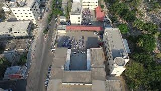 تصوير جوي لمدينة طولكرم مع بدء العام الدراسي الجديد