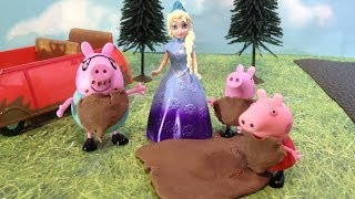 Peppa Pig and Friends Jumps in Muddy Puddles Parody