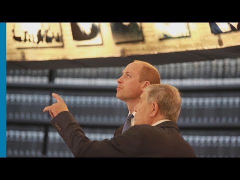 Prince William Visits Yad Vashem