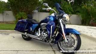 9. Used 2013 Harley Davidson CVO Road King Motorcycle for Sale