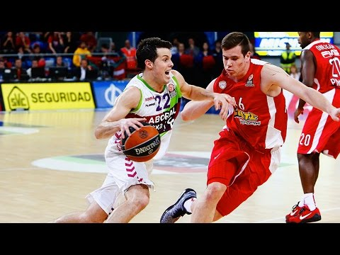 Highlights: Laboral Kutxa Vitoria-Olympiacos Piraeus