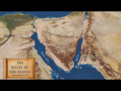 Red Sea Crossing summary of the evidence