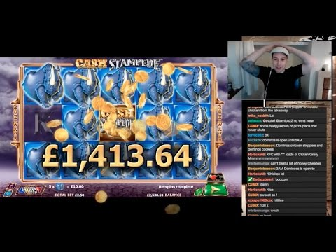 Cash Stampede INSANE WIN!!!!!!!