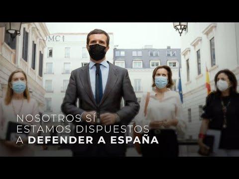 Nosotros sí estamos dispuestos a defender a España...