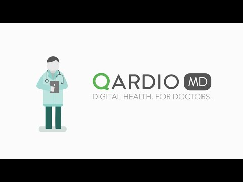 QardioArm Wireless Blood Pressure Monitor (for iOS and Android) - Midnight Blue