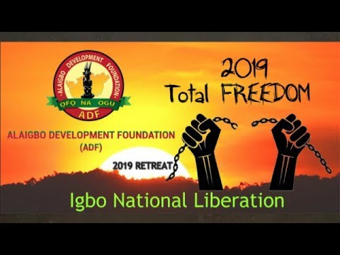 2019: Igbo Nation & Biafra Freedom Is Our Top Priority - ADF Retreat
