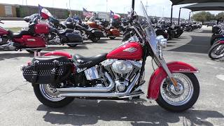 6. 038921 - 2010 Harley Davidson Heritage Softail Classic   FLSTC - Used motorcycles for sale