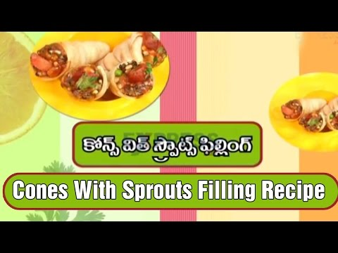 Cones With Sprouts Filling Recipe | Yummy Healthy Kitchen Kids' Spl | Express TV