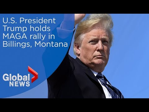 President Trump holding MAGA rally in Billings, Montana