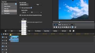 شرح تسريع الفيديو أو المشهد برنامج CyberLink PowerDirector R12