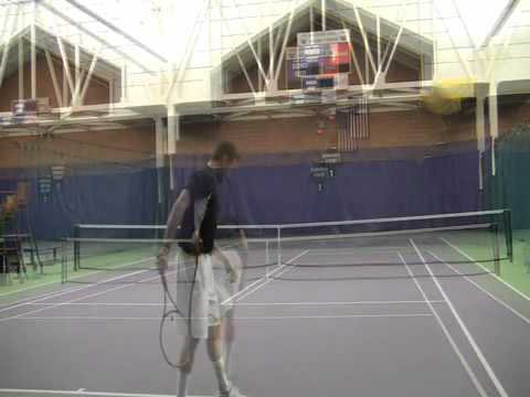 Tennis Serve Mental Training
