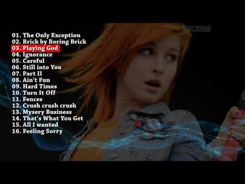 Paramore  The Best  Greatest Hits  [Playlist]
