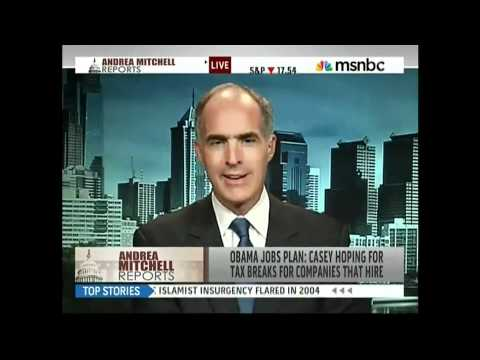Senator Casey Speaks with Chris Mathews about Job Creation