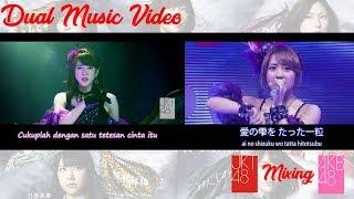JKT48 & AKB48 Junai no Crescendo [純愛のクレッシェンド Cinta yang Tulus, Crescendo]