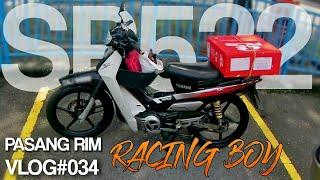 Video PASANG RIM RACING BOY SP522 #yamahass110 #motovloggermalaysia MP3, 3GP, MP4, WEBM, AVI, FLV Oktober 2018