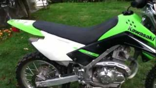 9. 2009 KLX 140L review
